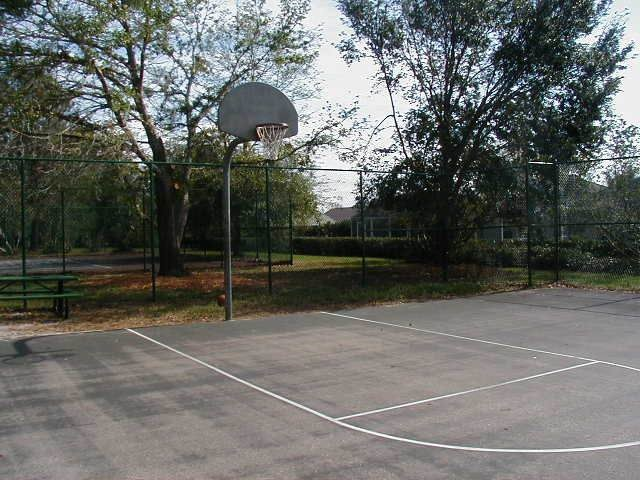 Chatham Park basketball court