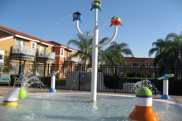 Lake Berkley kiddy splash pool