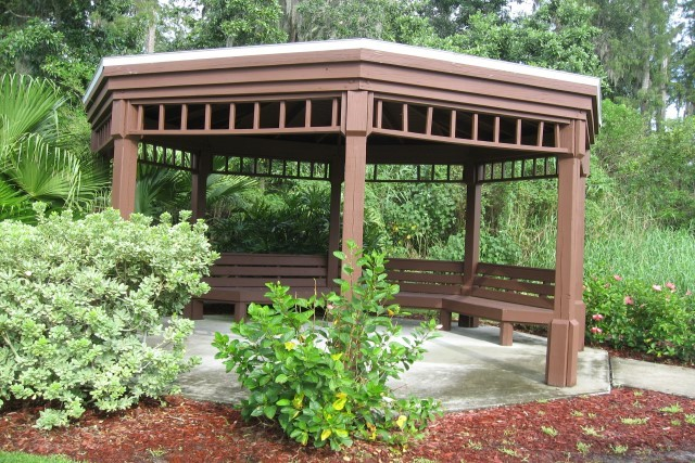 Lake Berkley gazebo